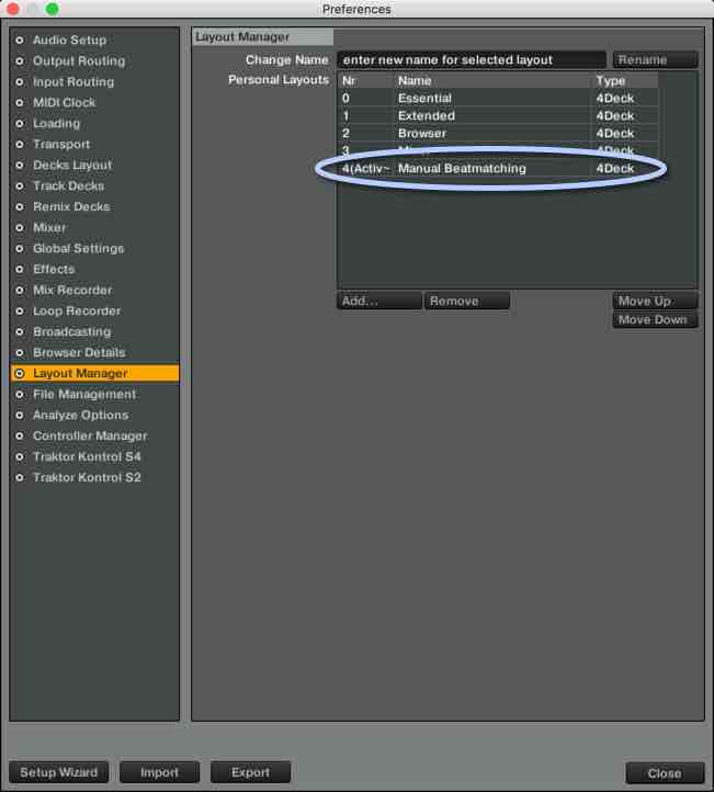 Phase Meter Layout Manager