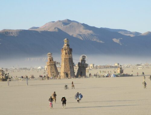 Burning Man 101: How To Wear Contacts At Burning Man